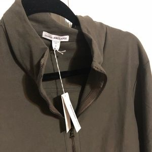 James Perse Sweaters - NWT James Perse lightweight zip up jacket size 2